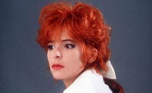 Mylène Farmer en 1987.