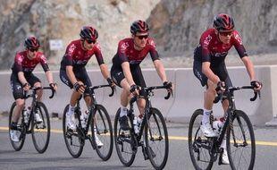 L'équipe Ineos ne sera pas à Paris-Nice ni Milan-San Remo.