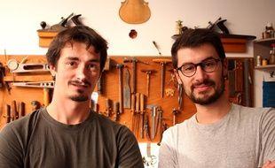 Clément Flipo et Pierre Boutet sont les deux créateurs de Wikifab.