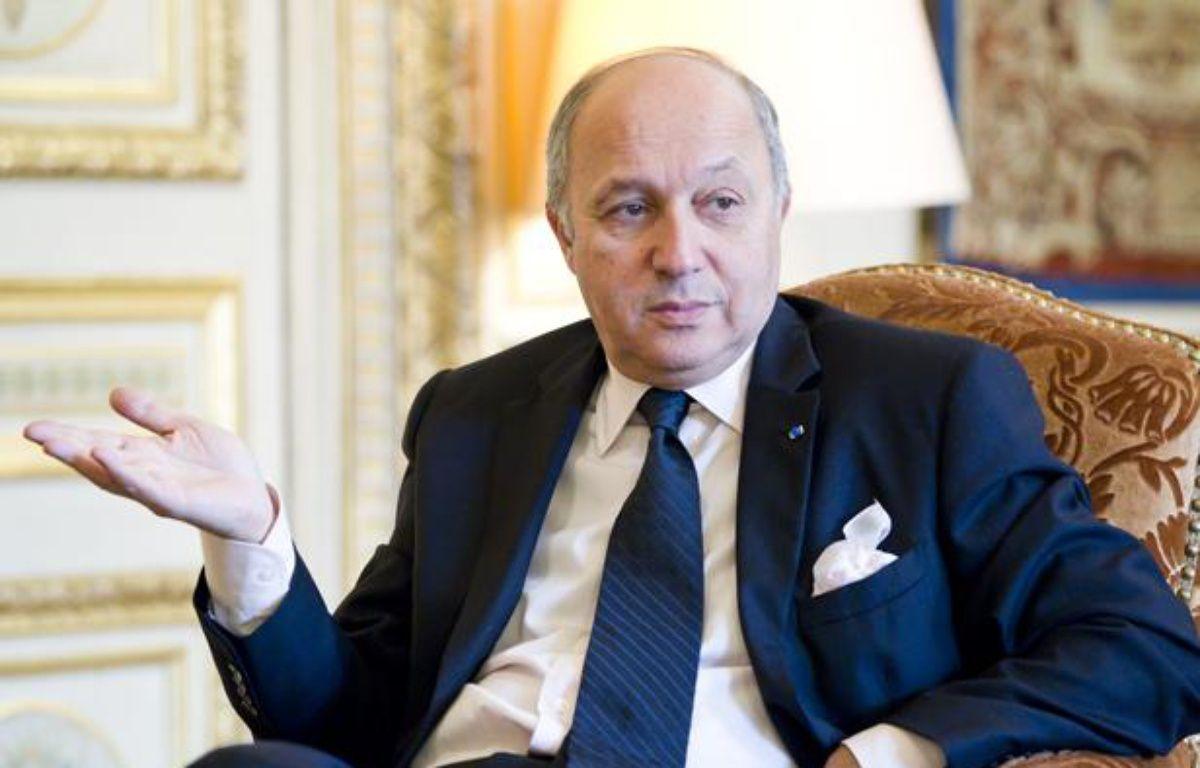 Laurent Fabius, ministre des Affaires étrangères, en interview dans son bureau du Quai d'Orsay, le 19 février 2013.  – V. WARTNER / 20 MINUTES