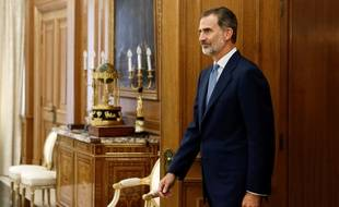Le roi Felipe VI.