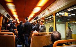 Illustration du métro de Marseille