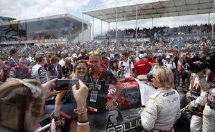 Lors de l'édition 2018 des 24 Heures du Mans.