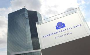 Le siège de la Banque centrale européenne (BCE), le 3 septembre 2015 à Francfort