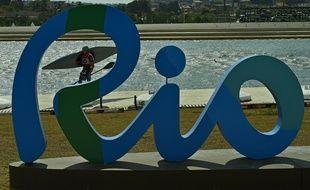 Un kayakiste à Rio le 2 août 2016.