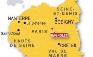 Bagnolet:Un jeune homme qui fuyait la police s'est tué, le 10 août 2009.
