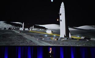 Elon Musk a dévoilé à Adélaïde son ambition d'aller sur Mars en 2022