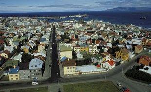 Reykjavik, en Islande.