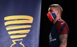 C'est sans doute avec un masque que Marco Verratti assistera au quart de finale face à l'Atalanta, depuis les tribunes.