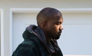 Kanye West à Los Angeles le 27 novembre 2015