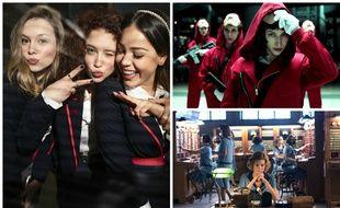 «Elite», «La Casa de Papel» et «Las Chicas del Cable» sont trois séries espagnoles qui cartonnent sur Netflix.