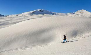 Snowboard dans les Hautes-Pyrénées en 2018 (photo d'illustration)