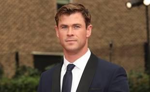 L'acteur Chris Hemsworth