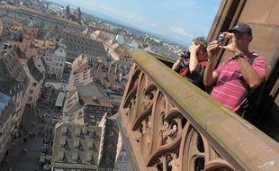 Visite de la cathédrale Notre-Dame de Strasbourg. (Archives)