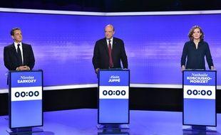 Troisième débat de la primaire à droite.