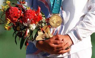 Illustration médaille d'or.