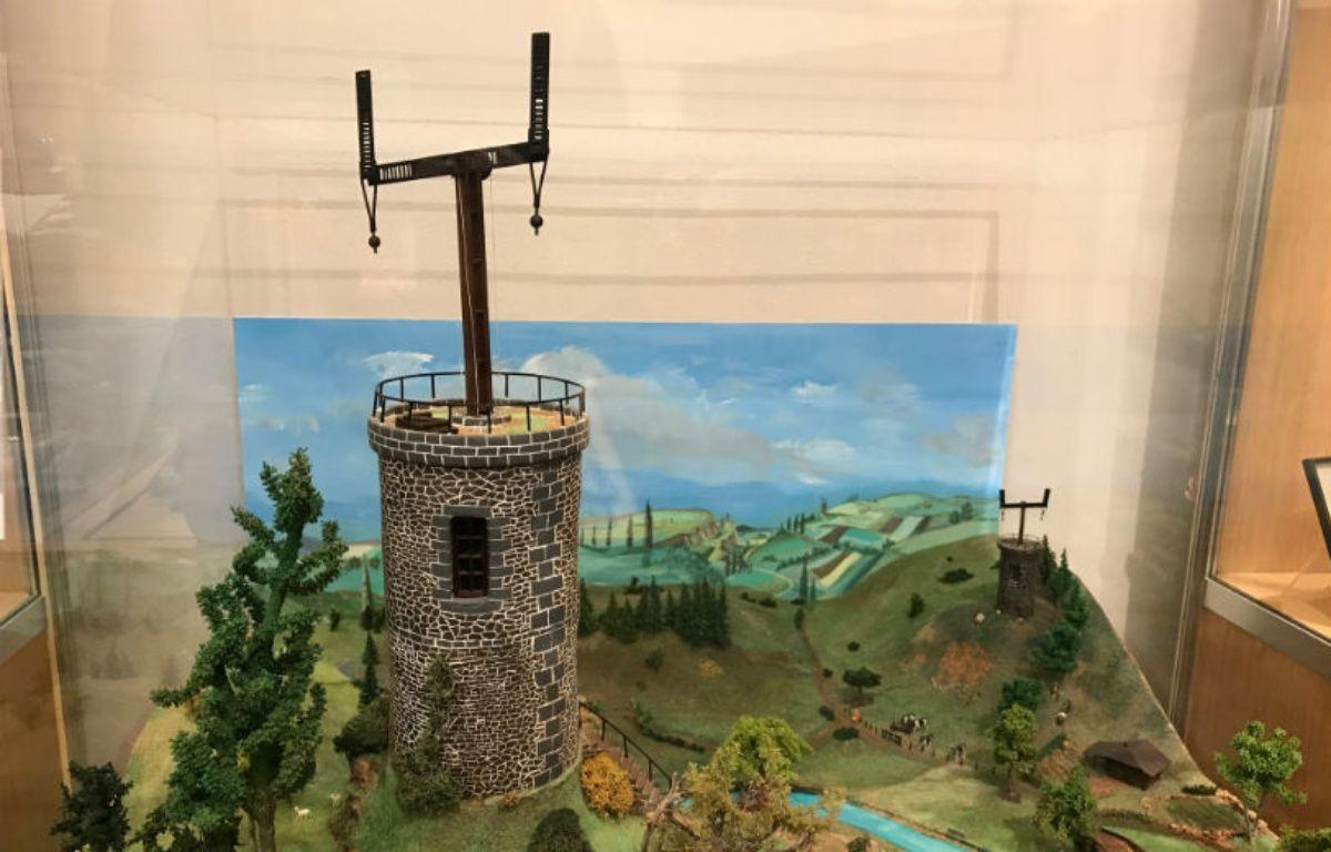 1792: le premier télégraphe Chappe. – CHRISTOPHE SEFRIN/20 MINUTES