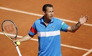 Michaël Llodra, le 23 mai 2011, à Roland-Garros.