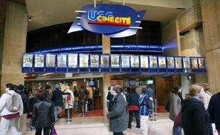 L'entrée du cinéma UGC des Halles, à Paris.