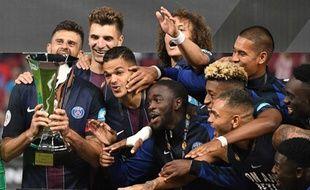 Thiago Motta et les Parisiens ont remporté leur premier titre de la saison en Autriche.