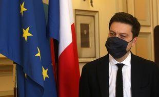 Le maire de Marseille Benoît Payan