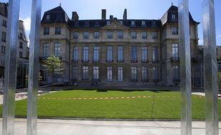 Le musée Picasso, côté jardin, le 15 mai 2014, à Paris.