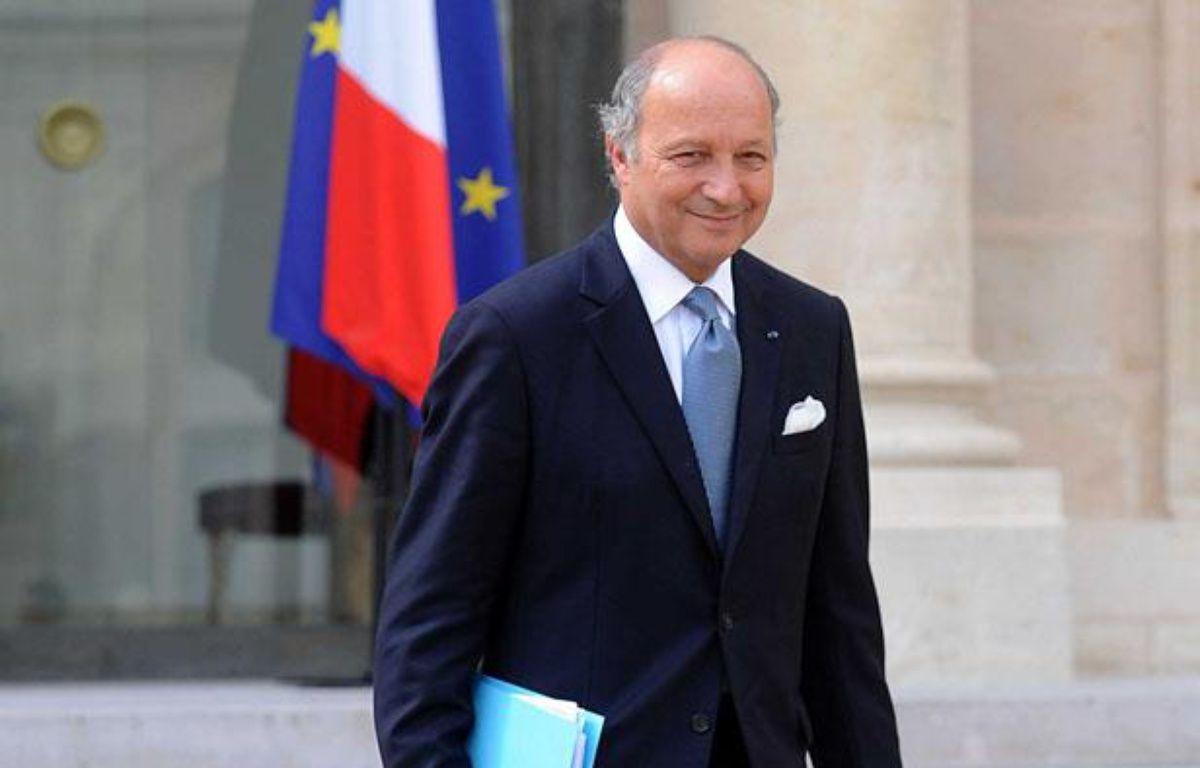 Laurent Fabius, lors de larentrée du gouvernement. – ANTONIOL ANTOINE/SIPA