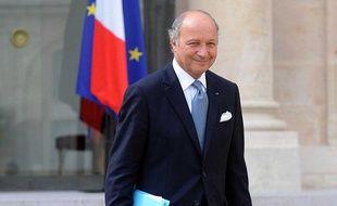 Laurent Fabius, lors de larentrée du gouvernement.