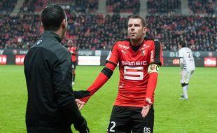 Sylvain Armand lors de Rennes-Bordeaux, le 22 novembre 2015.