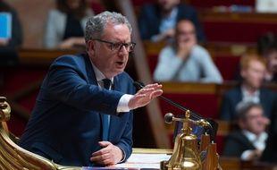 Le président de l'Assemblée nationale, Richard Ferrand, le 28 mai 2019.
