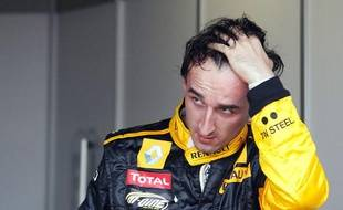 Le pilote Renault, Robert Kubica, le 15 mai 2010