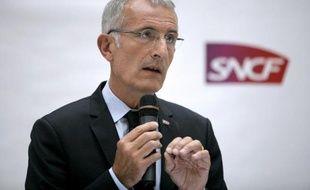 Guillaume Pepy, président de la SNCF, le 7 juillet 2014 à Paris