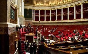 Paris le 7 juin 2011. Palais Bourbon. Illustration séance Assemblée nationale. Députés. Hémicycle. Ministres.