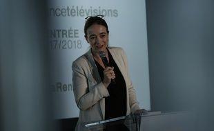 Delphine Ernotte, la présidente de France Télévisions