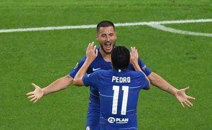 Eden Hazard et Pedro