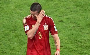 Fernando Torres après Espagne - Chili