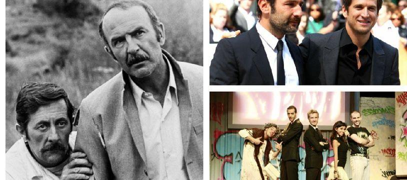 Jean-Pierre Marielle et Jean Rochefort sur le tournage de «Calmos», Gilles Lellouche et Guillaume Canet à Cannes et la bande à Fifi.