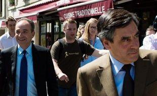 """Jean-François Copé et François Fillon """"dénoncent la responsabilité personnelle"""" du président François Hollande """"dans la dégradation continue et consternante de la relation franco-allemande"""", lundi dans un communiqué commun."""