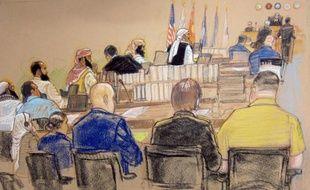 """La censure exercée par la justice militaire de Guantanamo, visant à garder """"top secret"""" tous les faits et gestes des accusés du 11-Septembre, a été sévèrement critiquée par la défense, au deuxième jour d'une audience boycottée par le cerveau des attaques."""