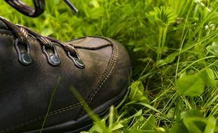 Chaussures de randonnée (illustration)