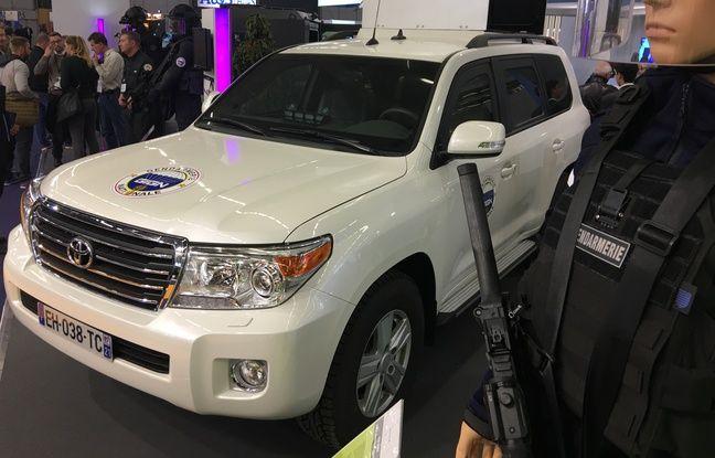 Le Toyota Van Cruiser a été adapté aux besoins du GIGN