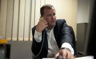 Louis Aliot, tête de liste FN dans la région Languedoc-Roussillon-Midi-Pyrénées.