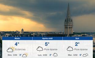 Météo Caen: Prévisions du samedi 2 février 2019