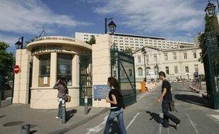 Hôpital de la Timone, Marseille, illustration