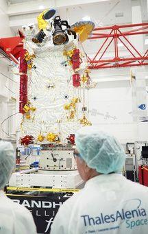 Un satellite conçu pat Thales Alenia Space