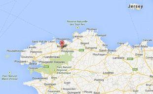 Google map de Morlaix
