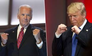Joe Biden (76 ans) face à Donald Trump (73 ans).