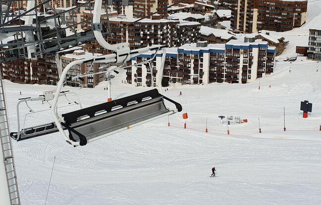 648x415 photo d illustration de remontees mecaniques fermees en station de ski en temps de covid a val