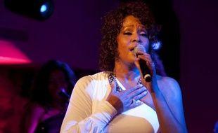 Whitney Houston, lors d'un concert en 2010.