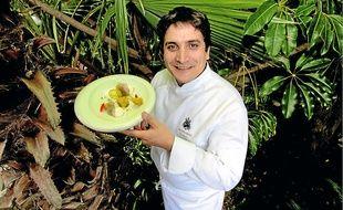 Mauro Colagreco a repris les cuisines du Mirazur, à l'est de Menton, en 2006.